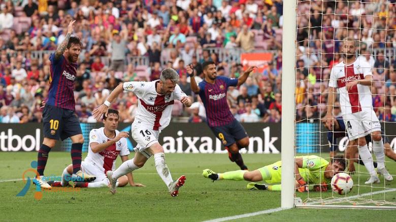 Mencetak Rekor Barcelona Kalahkan Huesca Dengan Skor 8-2