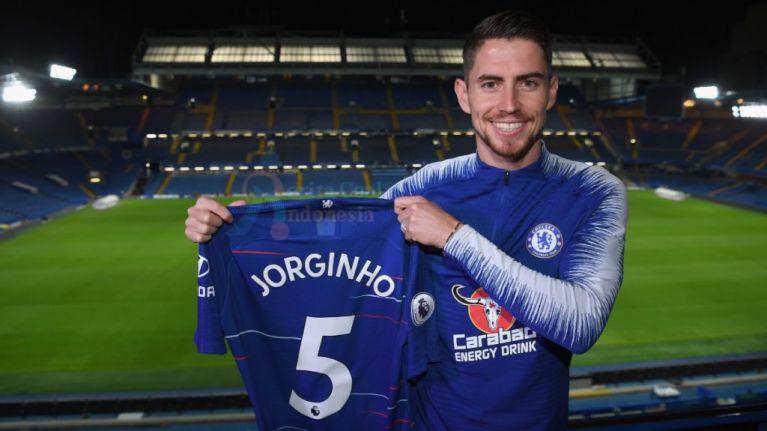 Jorginho Pindah Ke Chelsea no 5