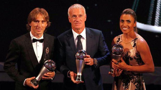 Penghargaan Luka Modric Pemain Terbaik FIFA 2018