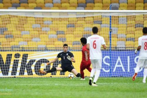 Piala Asia U16 Iran vs Indonesia 0-2