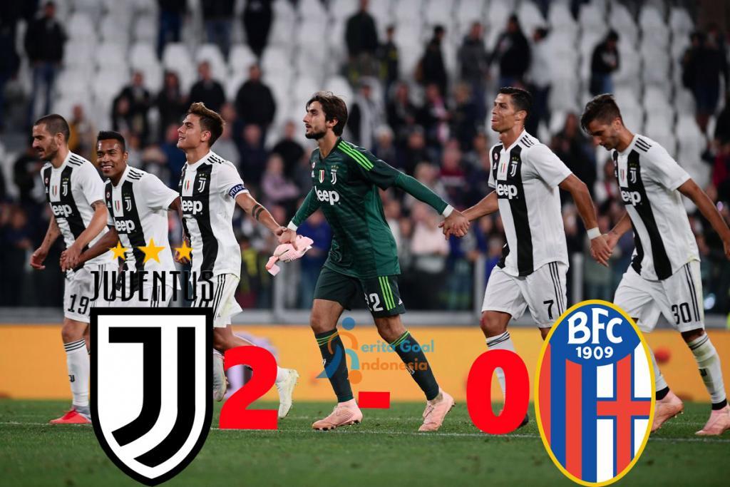 Hasil Liga Italia : Juventus Tundukan Bologna Dengan Skor 2-0