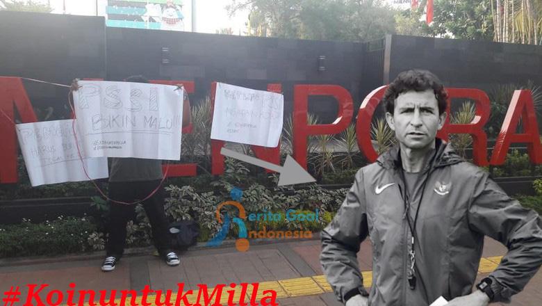 Ditunggaknya Gaji Luis Milla Oleh PSSI, Suporter Pun Kian Geram