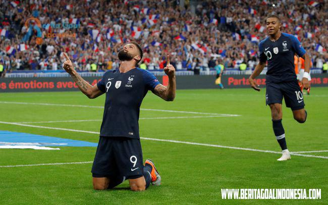 Hasil UEFA Nations League, Belanda Takluk 1-2 oleh Prancis