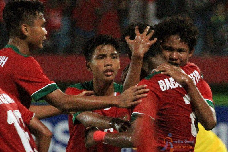 Jalannya Pertandingan Piala Asia U16 Iran vs Indonesia