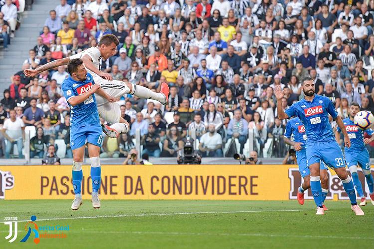 Mario Mandzukic Serie A 2018/19 Juventus vs Napoli 3-1