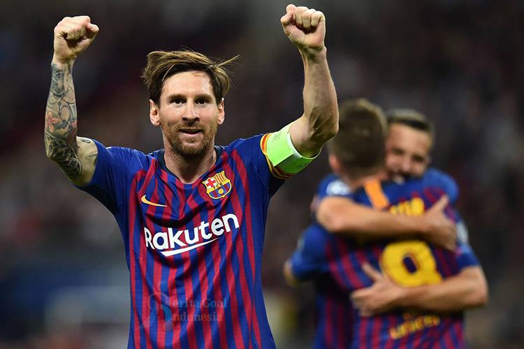 Lionel Messi Liga Champions 2018/19 : Tottenham Hotspur vs Barcelona