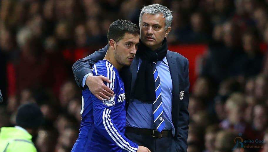 Eden Hazard Ingin Dilatih Kembali Oleh Jose Mourinho