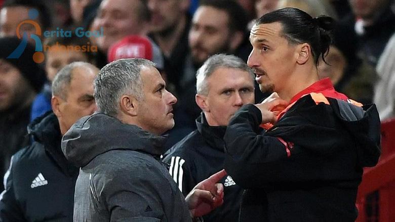 Ibra : Mourinho Masih Pelatih Yang Tepat Untuk MU