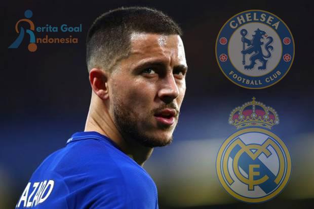 Hazard Dihadapkan Dengan Pilihan Chelsea Atau Real Madrid