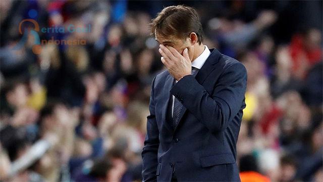 Julen Lopetegui Telah Resmi Dipecat Oleh Real Madrid