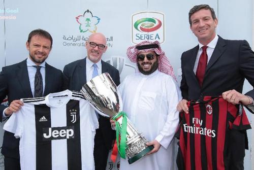 Piala Super Italia 2018 Telah Ditetapkan