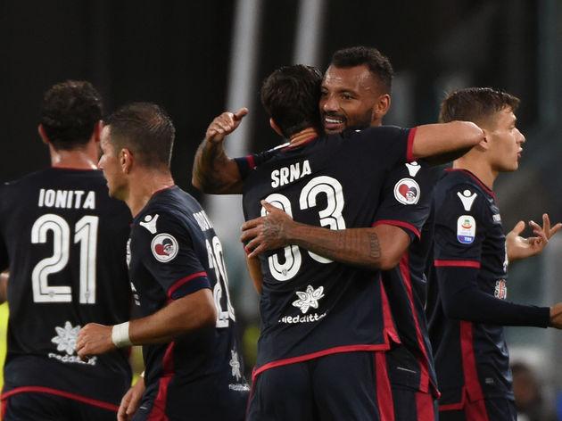 Serie A 2018 Juventus vs Cagliari 1-1