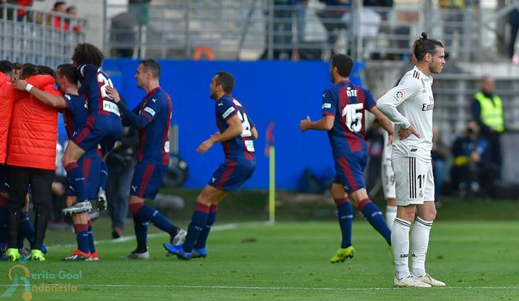 La Liga 2018/19 SD Eibar vs Real Madrid 3-0