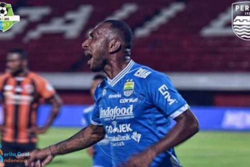Liga 1 2018 : Persib vs Perseru Berakhir Imbang 2-2