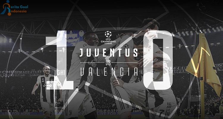 Liga Champions Juventus vs Valencia, Juve Lolos 16 Besar