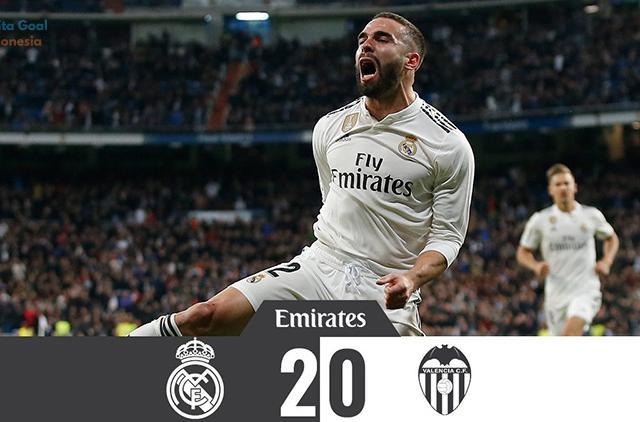 La Liga 2018 Real Madrid vs Valencia 2-0
