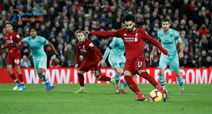 Liverpool Tutup Akhir Tahun Menang Dari Arsenal