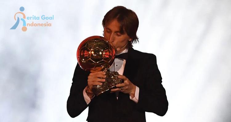 Luka Modric Berhasil Meraih Ballon D'Or Tahun 2018